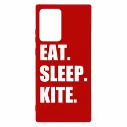 Чохол для Samsung Note 20 Ultra Eat, sleep, kite