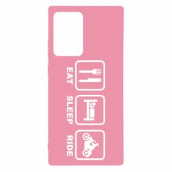 Чохол для Samsung Note 20 Ultra Eat, sleep, ride