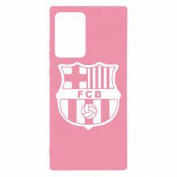 Чехол для Samsung Note 20 Ultra FC Barcelona