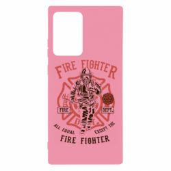 Чохол для Samsung Note 20 Ultra Fire Fighter