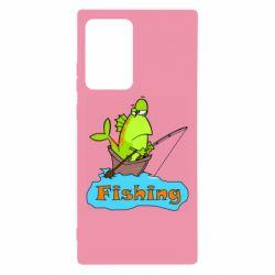 Чехол для Samsung Note 20 Ultra Fish Fishing