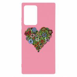 Чохол для Samsung Note 20 Ultra Flower heart