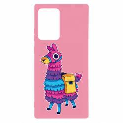 Чехол для Samsung Note 20 Ultra Fortnite colored llama
