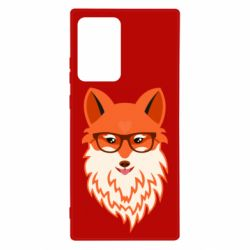 Чехол для Samsung Note 20 Ultra Fox with a mole in the form of a heart
