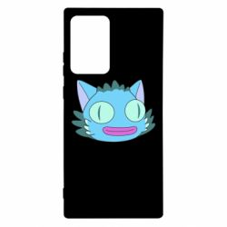 Чехол для Samsung Note 20 Ultra Funny cat from Rick and Morty season 4