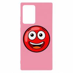 Чохол для Samsung Note 20 Ultra Funny Red Ball