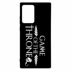 Чохол для Samsung Note 20 Ultra Game of thrones stylized logo