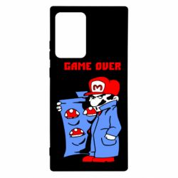 Чехол для Samsung Note 20 Ultra Game Over Mario