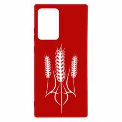 Чохол для Samsung Note 20 Ultra Герб України з колосками пшениці