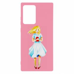 Чехол для Samsung Note 20 Ultra Girl with a doll art