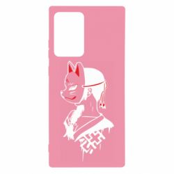 Чехол для Samsung Note 20 Ultra Girl with kitsune mask