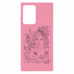 Чохол для Samsung Note 20 Ultra Girl with threads