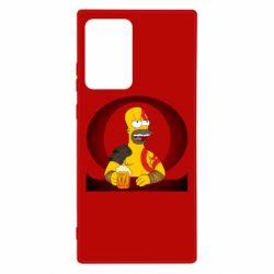 Чохол для Samsung Note 20 Ultra God of war: Simpson