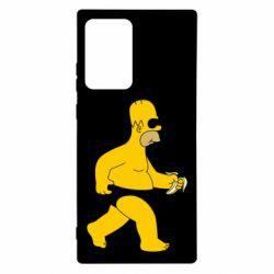 Чехол для Samsung Note 20 Ultra Гомер Симпсон в трусиках