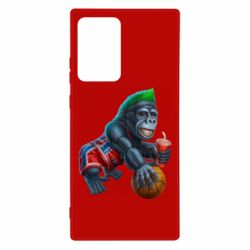 Чохол для Samsung Note 20 Ultra Gorilla and basketball ball
