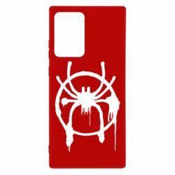Чохол для Samsung Note 20 Ultra Graffiti Spider Man Logo