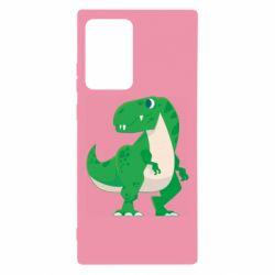 Чохол для Samsung Note 20 Ultra Green little dinosaur