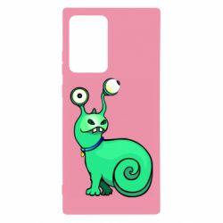 Чехол для Samsung Note 20 Ultra Green monster snail