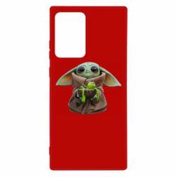Чохол для Samsung Note 20 Ultra Grogu and Kermit