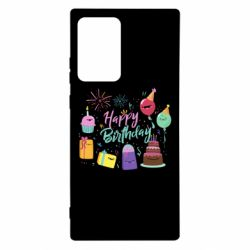 Чохол для Samsung Note 20 Ultra Happy Birthday