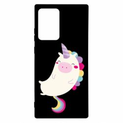 Чехол для Samsung Note 20 Ultra Happy color unicorn
