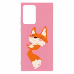 Чехол для Samsung Note 20 Ultra Happy fox