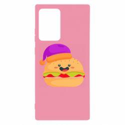 Чехол для Samsung Note 20 Ultra Happy hamburger