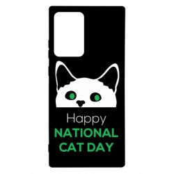 Чехол для Samsung Note 20 Ultra Happy National Cat Day