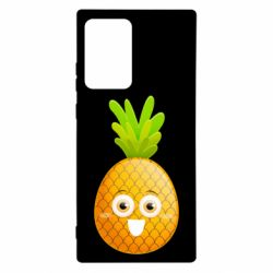 Чехол для Samsung Note 20 Ultra Happy pineapple
