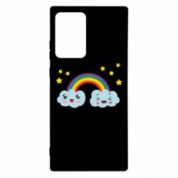 Чехол для Samsung Note 20 Ultra Happy rainbow
