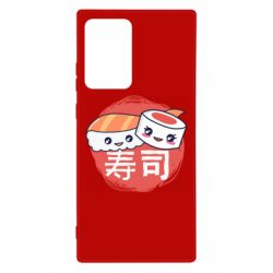 Чехол для Samsung Note 20 Ultra Happy sushi