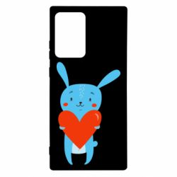 Чехол для Samsung Note 20 Ultra Hare with a heart