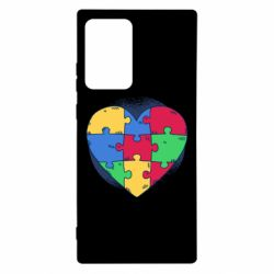 Чохол для Samsung Note 20 Ultra Heart puzzle