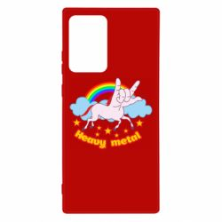 Чехол для Samsung Note 20 Ultra Heavy metal unicorn