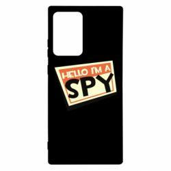 Чохол для Samsung Note 20 Ultra Hello i'm a spy
