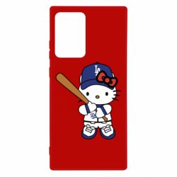 Чохол для Samsung Note 20 Ultra Hello Kitty baseball