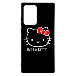 Чохол для Samsung Note 20 Ultra Hello Kitty