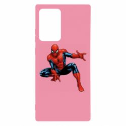 Чехол для Samsung Note 20 Ultra Hero Spiderman