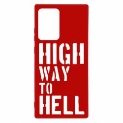 Чехол для Samsung Note 20 Ultra High way to hell