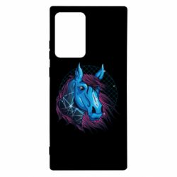 Чехол для Samsung Note 20 Ultra Horse and neon color