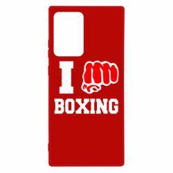 Чехол для Samsung Note 20 Ultra I love boxing