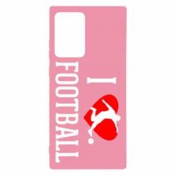 Чохол для Samsung Note 20 Ultra I love football