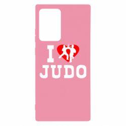 Чехол для Samsung Note 20 Ultra I love Judo