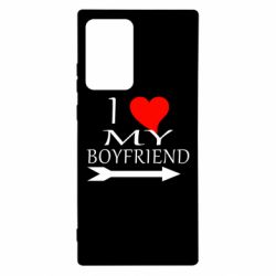 Чехол для Samsung Note 20 Ultra I love my boyfriend