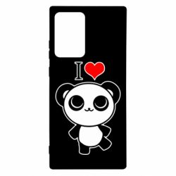 Чохол для Samsung Note 20 Ultra I love Panda
