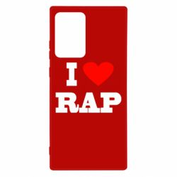 Чехол для Samsung Note 20 Ultra I love rap