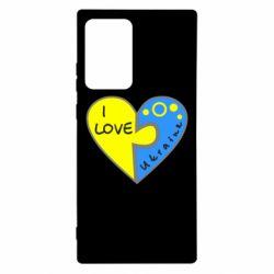 Чохол для Samsung Note 20 Ultra I love Ukraine пазли