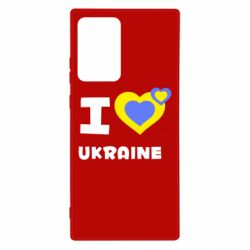 Чехол для Samsung Note 20 Ultra I love Ukraine