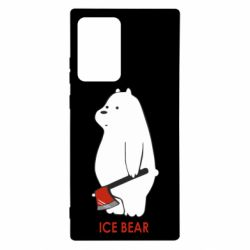 Чохол для Samsung Note 20 Ultra Ice bear