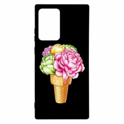 Чохол для Samsung Note 20 Ultra Ice cream flowers